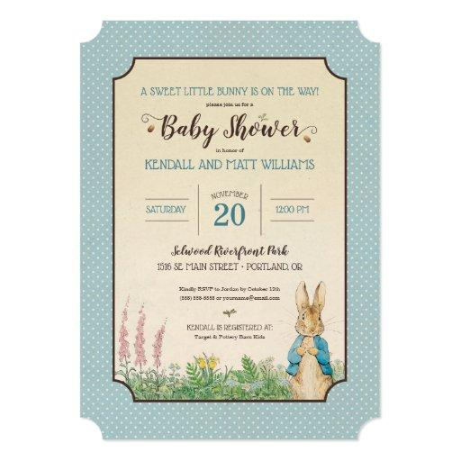 Peter Rabbit | Boy Baby Shower