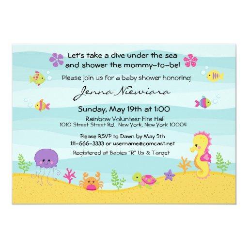 Under The Sea Baby Shower