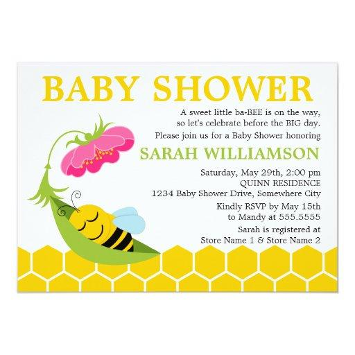 Whimsical Bee Baby Shower