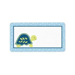"1.25""x2.75"" Mailing Address Sea Turtle Reef Ocean Label"