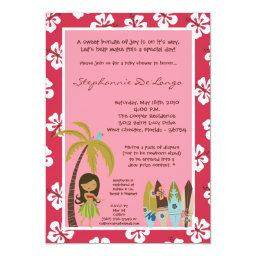 Hawaiian Luau Tropical Baby Shower