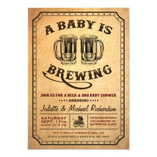 bbq  couples coed baby shower invitations  babyshowerinvitationsu, Baby shower invitations