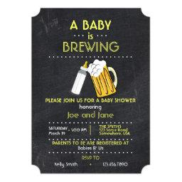 A Baby Is Brewing