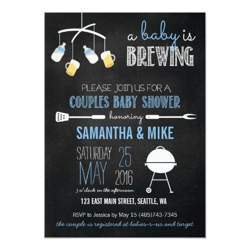 A Baby is Brewing Couples