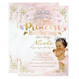 A Little Princess Pink Sparkle Baby Girl Shower