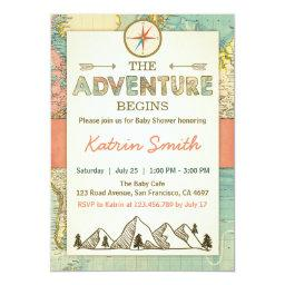 Adventure begins  invite Travel Map