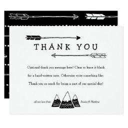 Adventure Themed Thank You  for Baby Shower