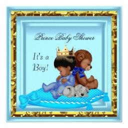 African American  Blue Gold Boy Prince