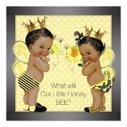 African American Bee Gender Reveal
