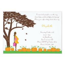 African American Fall Girl Baby Shower