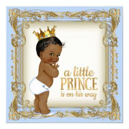 African American Prince  Baby Blue