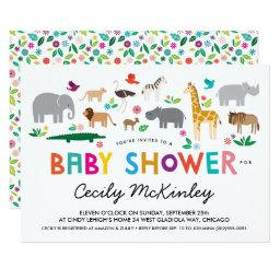 African Animals Baby Shower