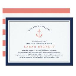 Anchors Aweigh | Nautical Baby Shower