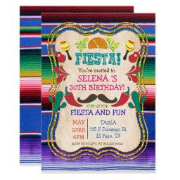 ANY EVENT - Mexican Fiesta Party