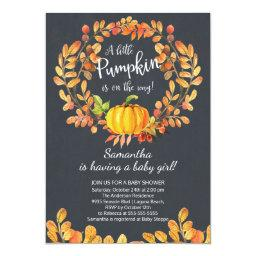 Autumn Little Pumpkin Baby Shower