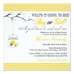 Baby Bee Shower  Gender neutral reveal