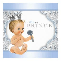 Baby Blue Silver Prince