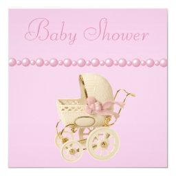 Baby Carriage, Shoes, Pacifier, Pearls