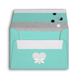 BABY & CO. Tiffany Shower  A2 Envelope