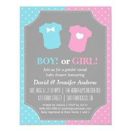 Baby Gender Reveal Party Polka Dots