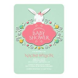 Baby Girl Bunny Shower