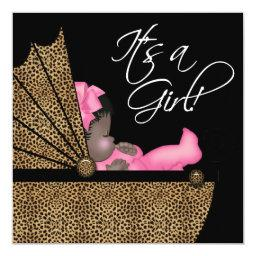 Baby Girl Pink Leopard