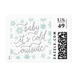 Baby It's Cold Outside Winter  Postage