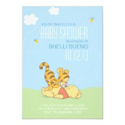 Baby Pooh and Tigger Baby Shower