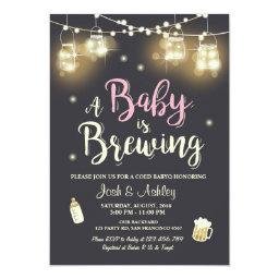 Baby Q  Coed BBQ Baby brewing Pink Girl