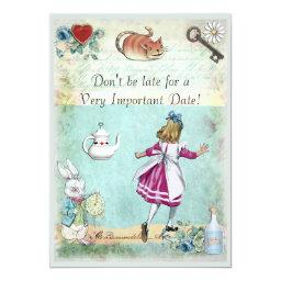 Alice in Wonderland Don't Be Late