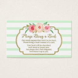 Book Request  Pink Floral Mint