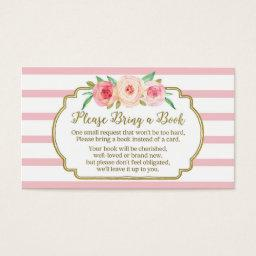Book Request  Pink Floral Stripes