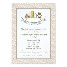 Baby Shower Book Themed Unisex