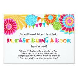 Baby shower Bring a book  Fiesta Mexican