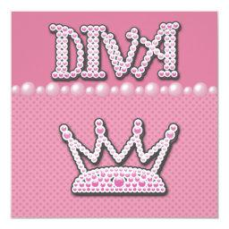 Diva Princess Crown, Shoes & Pearls