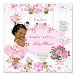 Garden Tea Party Lace Pink Ethnic