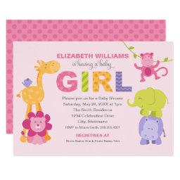 Jungle Animals for Girl