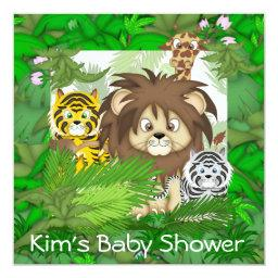 BABY SHOWER Jungle ZOO  NEUTRAL