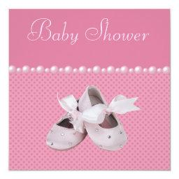 Baby Shower Pink Shoes, Clothes & Jewel Pacifier