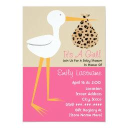 Stork With Leopard Print Bundle