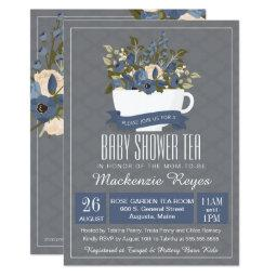 Baby Shower Tea Invitation, Birthday or Sip & See