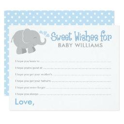 Wish  | Blue and Gray Elephant