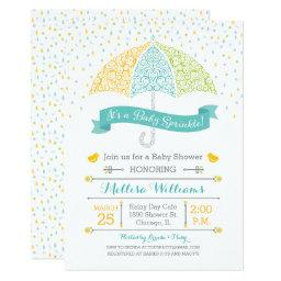 Baby Sprinkle Shower Lacy Umbrella