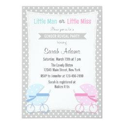 Baby Stroller Gender Reveal Party