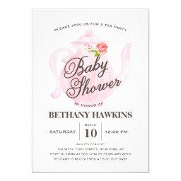 Baby Tea Party | Baby Shower