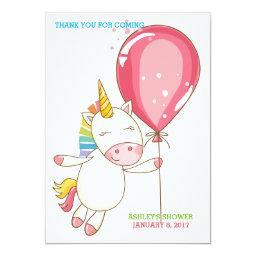 Baby Unicorn Balloon Lip Balm Favor