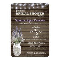 Baby's Breath and Lavender Rustic