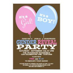 Balloons Gender Reveal Party