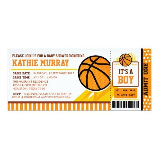 Basketball Ticket Pass