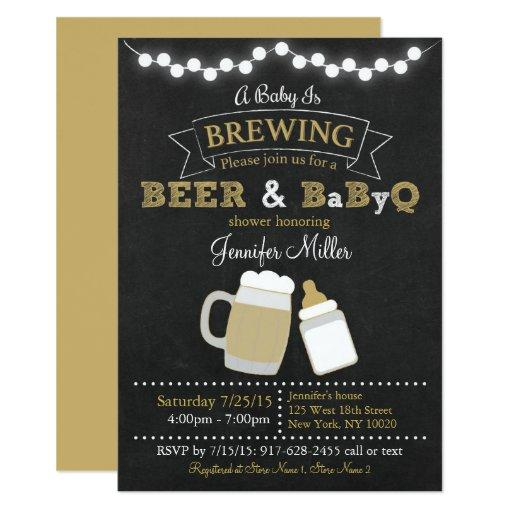 BBQ Beer Baby Is Brewing